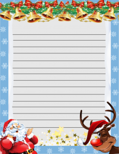 Letter To Santa Templates The Naturally Clean Co