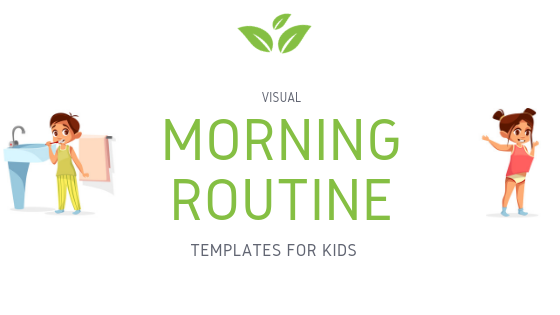 Morning routine templates