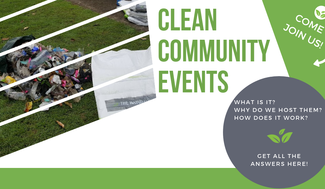 Why we hold clean community events