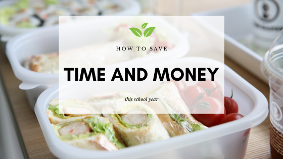 How to save time and money this school year