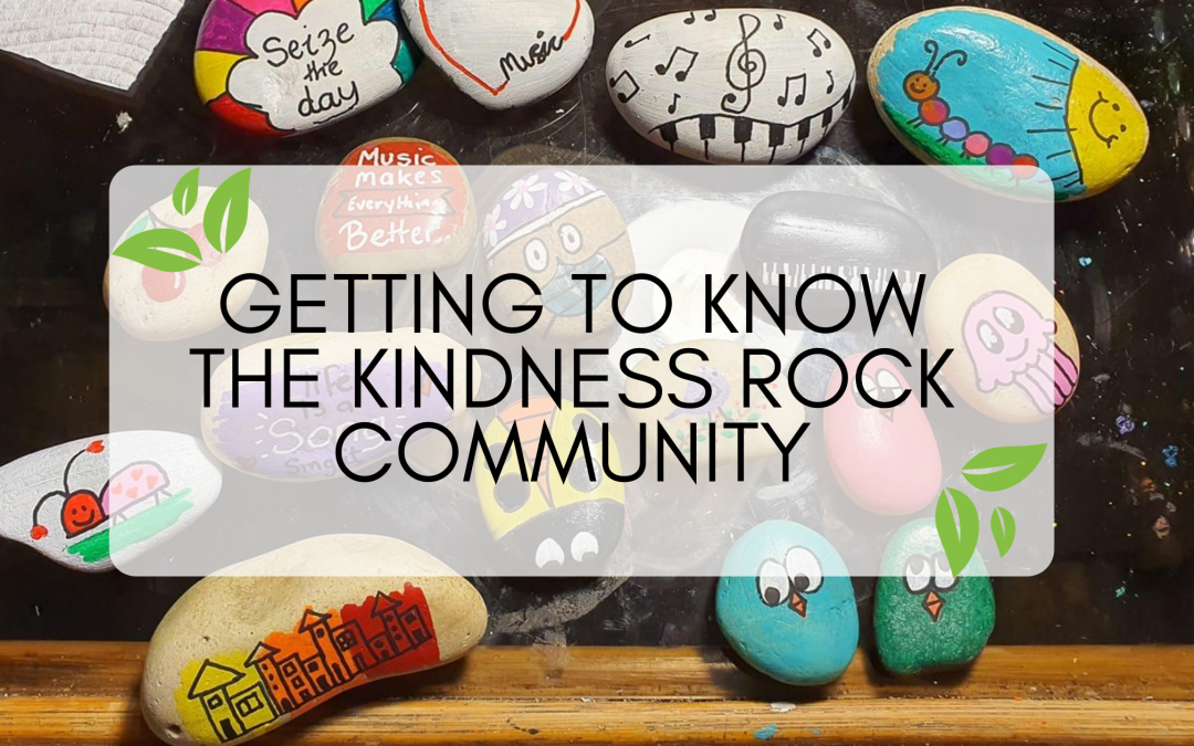 Getting to know the kindness rock community